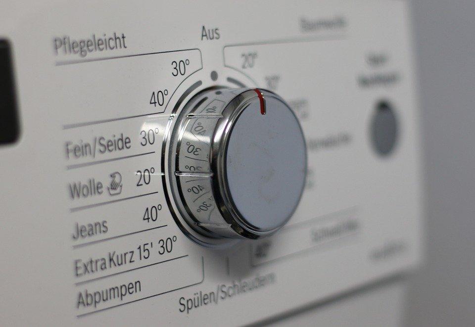 wasmachine voorzijde bedieningspaneel